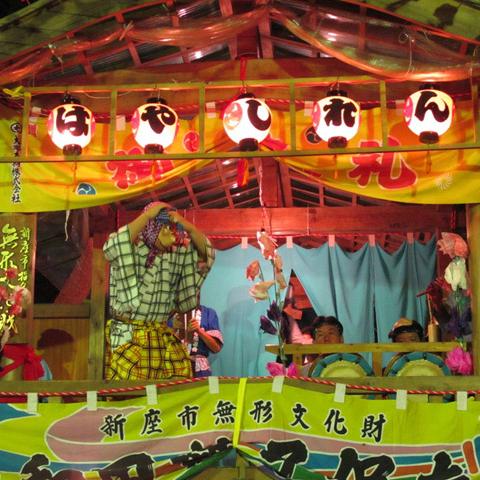 大和田氷川神社・大和田囃子とはだか神輿